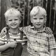 im Kindergarten '82 (mit Andre Hannig)