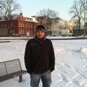 Olli im Schnee (Dezember 2010)