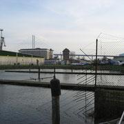 Am Flotthafen hinterm Gymnasium (Quelle: eigenes Werk)