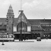 Hauptbahnhof in den 1930ern (Quelle: Wikimedia Commons)