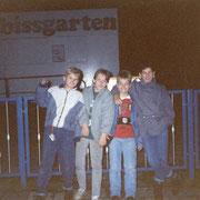 Gruppengrinsen Oktober '90