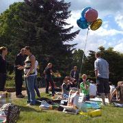 Geburtstagsparty im Stadtpark '08
