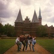 Klassenfahrt Lübeck Heinrich-Helbing Schule '93 ..die Jungs vom Holsten-Tor