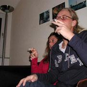 Sabrina und Nadine zu Besuch '02