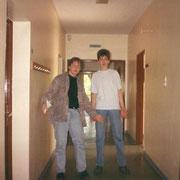Klassenfahrt Lübeck '93 Marco und Dusko