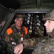 kurze Lagebesprechung - 1./PzGrenBtl 72