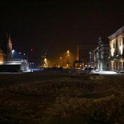 Hafen im Winter bei Nacht (Quelle: eigenes Werk)