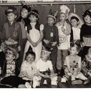 Fasching im Kindergarten '82