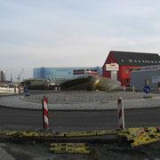 Neuer Kreisverkehr Werftstraße (Quelle: eigenes Werk)