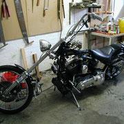 Die Harley vom Spieß - 1./PzGrenBtl 72