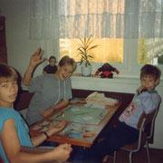 Monopoly mit Siegerpose '92