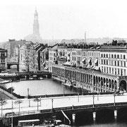 Alsterarkaden 1890 (Quelle: Wikipedia)