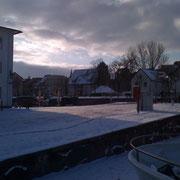 Stralsund im Winter (Quelle: eigenes Werk)
