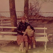 Am Königsstuhl mit meiner Mutti '81