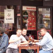 Mit Flo und Stefan '08
