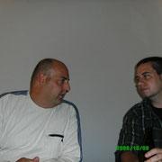 Einweihungsparty bei Olli, Oktober '06