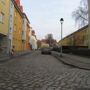 Blick in die Otto-Voge-Straße (Quelle: eigenes Werk)