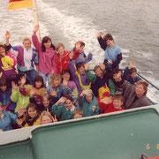 Klassenfahrt '90 (man sieht nur meinen Ärmel ganz links, aber sonst klasse Foto ;-)