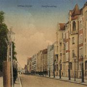 Jungfernstieg ca.1915 (Quelle: Wikimedia Commons)