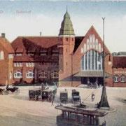 Der Hauptbahnhof um 1910 (Quelle: Bilder-speicher.de)