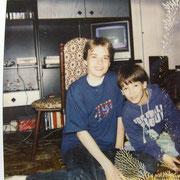 Ich mit Alex '92 (Danke Marina)