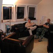 Stefan und Marcus beim Umzug '01