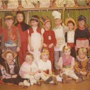 Fasching im Kindergarten '83