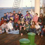 Klassenfahrt Lübeck Heinrich-Helbing Schule '93 (nicht ganz so dunkel)