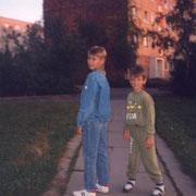 Olli und Alex August '90
