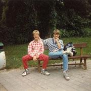 Mit Teetzer und Olli '93