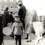 7.Oktober '81, auf dem alten Markt - im Hintergrund der Artushof