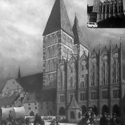 Historische Aufnahme vom alten Markt (Quelle: Wikimedia Commons)