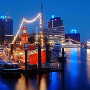 Hamburger Hafen Feuerschiff 2006 (Quelle: Internet)