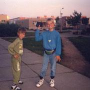 Alex und ich August '90