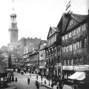 Hamburger Neustadt am Michel 1889 (Quelle: Wikipedia)