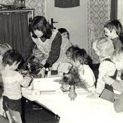 Weihnachten im Kindergarten '81