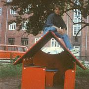 Unser alter Spielplatz am Wulflamufer '93