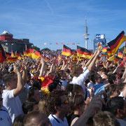 Heiligengeistfeld zur WM 2006 (Quelle: eigenes Werk)
