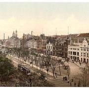 St.Pauli Spielbudenplatz um 1900 (Quelle: Wikipedia)