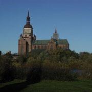 Marien-Kirche vom Wulflamufer (Quelle: eigenes Werk)