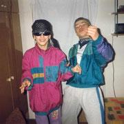 Alex und Olli am Rocken '92