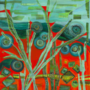"""THE GRASS HARP""  (48x36)   $4500"
