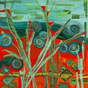 """THE GRASS HARP""  (48x36)   $4800"