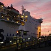 Fähre von Rostock nach Trelleborg