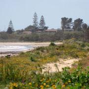 Strand Richtung Westen