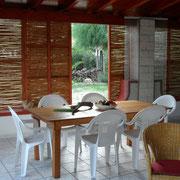 50 qm überdachte Terrasse