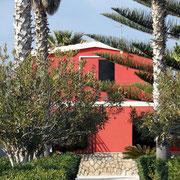Villa Giuseppina vom Strand aus