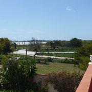 Meerblick vom Balkon der Villa Giuseppina