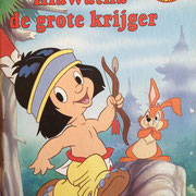 € 2,50 Hiawathade grote krijger Disney Boekenclub