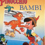 €4,50 Pinocchio Bambi
